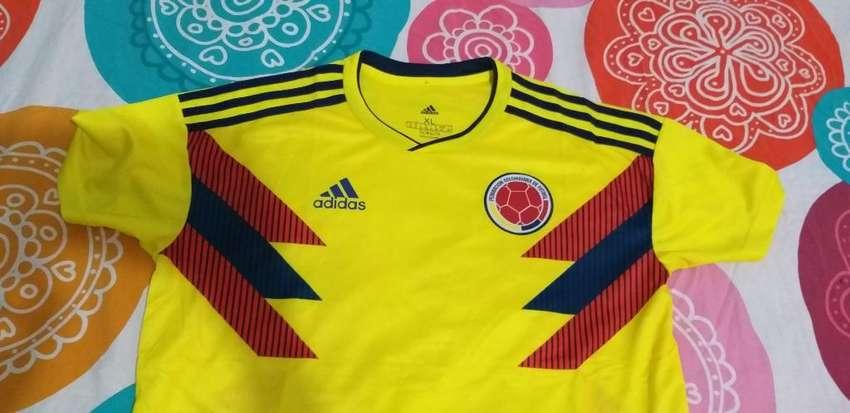 Camiseta de La Selección Colombia 0