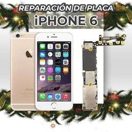 ¡Reparación de Placa de Iphone 6!