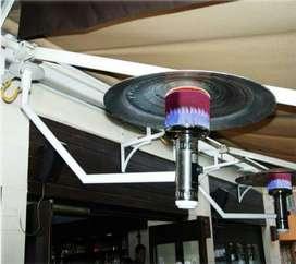 Calefactor Tipo Hongo de Colgar