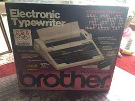 Maquina escribir electrica brother
