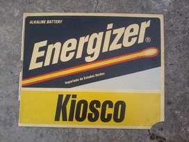 cartel kiosco energizer
