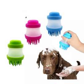 Limpiador masajeador para mascotas