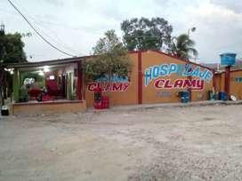 Restaurante y hospedaje