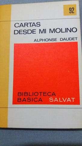 CARTAS DESDE MI MOLINO ALPHONSE DAUDET BIBLIOTECA SALVAT