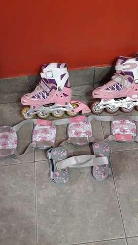 Rollers niña usados