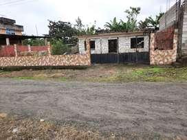 Casa en obra negra primer losa construida ubicada en Julio Moreno