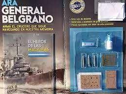 Crucero Ara Gral Belgrano Fasciculos Para Armar Salvat