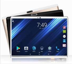 Tablet 10 Pulgadas + Teclado + Estuche + SD 64 G, Android 9, Ram 1.5, Almacenamiento 32 G, Nuevas, Entrega Inmediata.