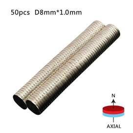 Imán De Neodimio D8mm * 1.0mm