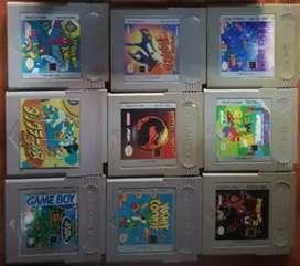 Juegos de GameBoy  9, precio por unidad