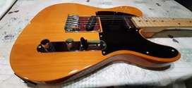Guitarra + funda + cable + correa