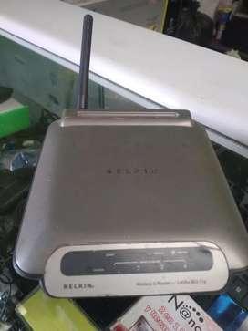 Router Belkin Wireless G