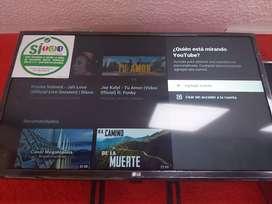 Vendo TV 32 pulgadas Smart TV  LG