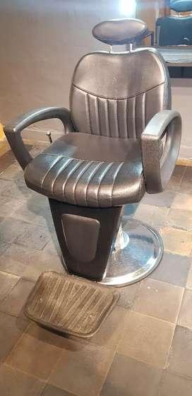 Vendo sillón barbero