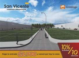 Terrenos San Vicente de oportunidad