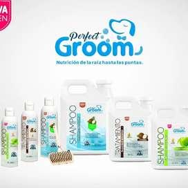 Shampos perfect groom x 2 litros