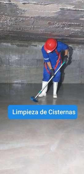 Limpieza de Cisternas de Agua
