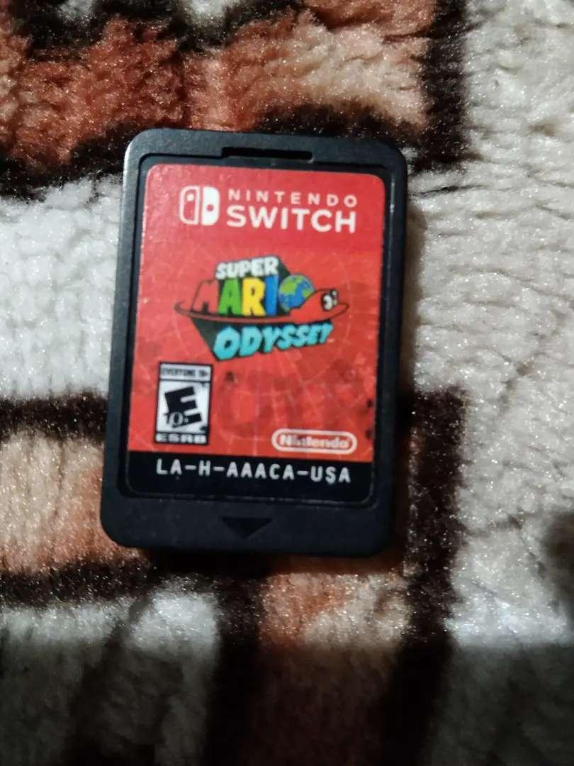 Vendo vídeo juego nintendo super Mario switch