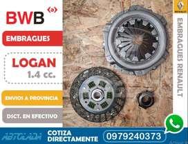 KIT EMBRAGUE LOGAN 1400 cc