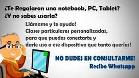 Aprende a Operar la PC, tablet o notebook