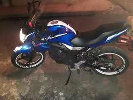 Una moto nueva