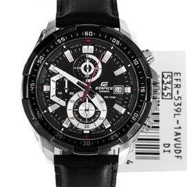 Reloj Casio Edifice 539L 1AV Cronógrafo y Fechero Original