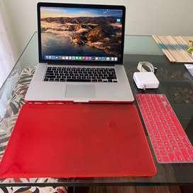 Macbook pro 15 2013 Retina A1398 i7 8gb 256ssd maa case