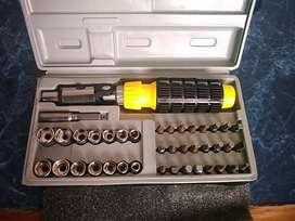 Set de llaves tubos y acoples