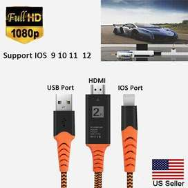 Cable MHL para iphone