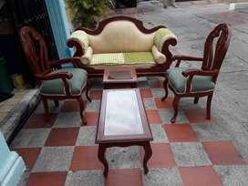 Vendo muebles sala