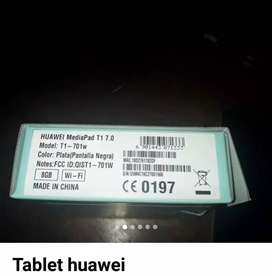 Tabled tableta, huawey t1 7.0  económica, oferta en perfectas condiciones física y funcional.