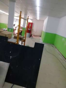 Se realizan trabajos de remodelación y albañileria