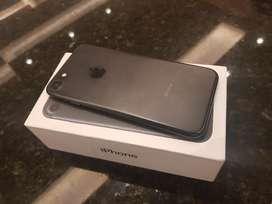 iPhone 7 32 Gb Negro en Caja con Todo.