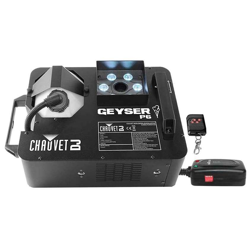 Camara Chauvet GEYSER P6 Humo DMX Control Remoto 0
