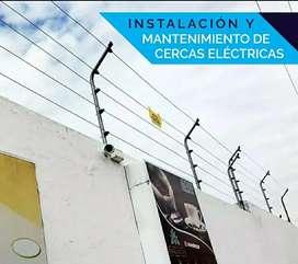 Cercas Eléctricas a 5 líneas de alambre acerado