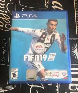 Juego de Play 4 Fifa 19