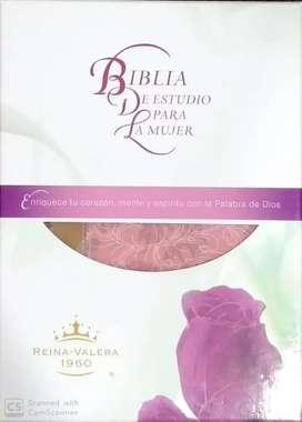 Biblia de estudio para mujer RVR 60
