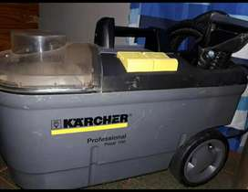 Vendo máquina profesional para limpiar tapizados