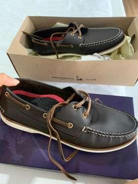 Zapatos de hombre cuero talla 40