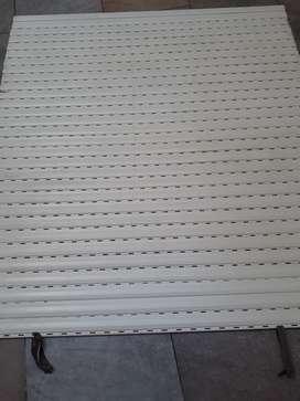 CORTINA / PERSIANA DE ENROLLAR PLASTICA EN PVC