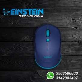 Mouse Inalámbrico Logitech M535 Bluetooth 1000 Dpi Usb Azul
