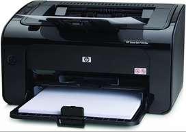Impresora HP Laserjet P1102W || 1 año de uso