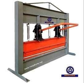 Dobladora Plegadora De Chapas Hidráulica Metalforte 1000 Mm - 2 Mm