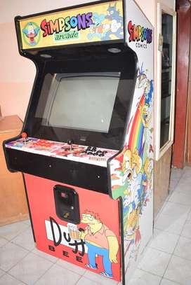 Alquiler de maquina multi arcade 15 años, infantiles, eventos