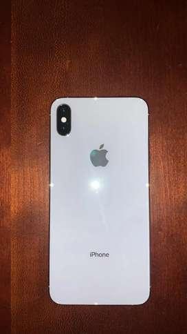 IPHONE XS MAX DE 256 GB en color blanco