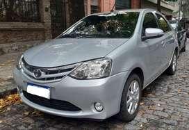 Toyota Etios 2016 XLS. Solo 50000 km!! caja de 6ta