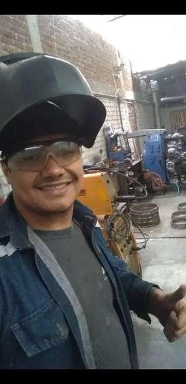 Busco trabajo como soldador