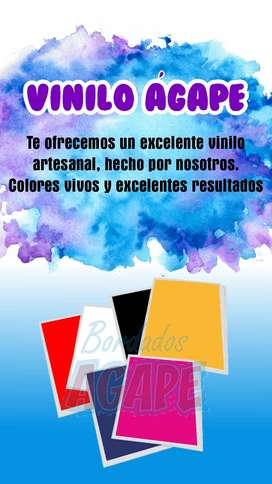 Vinilo Textil Artesanal