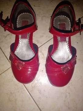 Zapatos elegantes para niña americanos talla 5