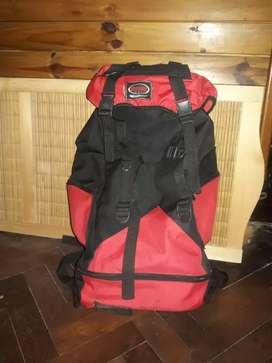 Bolso mochilero ¡ 70 lit authentic clotxes ¡¡nuevo ¡¡ impermeable original